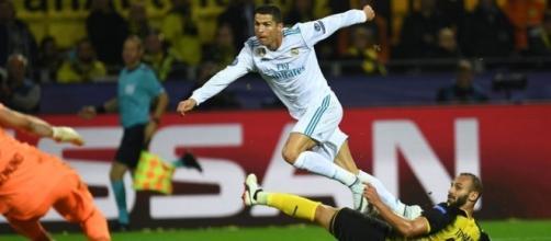 Ronaldo marcó otro doblete más en UEFA Champions League. MARCA.com.