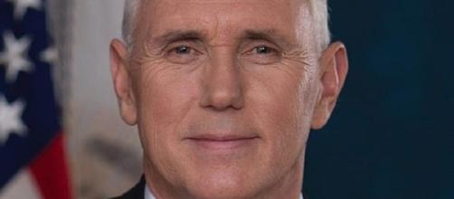 Vice President Mike Pence (Official portrait courtesy office of the vice president wikimedia coimmons)
