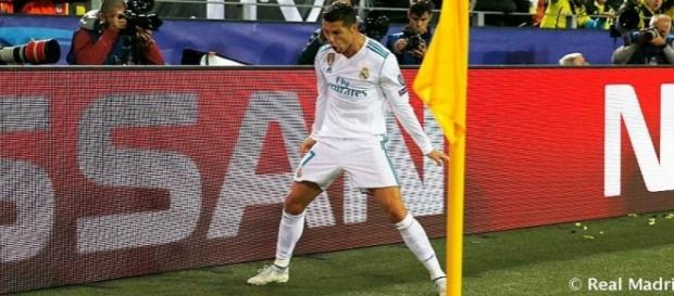 Cristiano marcó un doblete en su partido 400 con el Real Madrid (Twitter - Real Madrid)