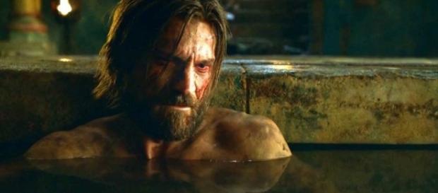 Jamie Lannister on 'Game of Thrones' - Image via YouTube/Tom0