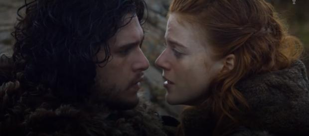 Kit Harington and Rose Leslie are reportedly engaged. Photo by Harper's BAZAAR/YouTube Screenshot