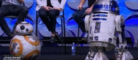 BB-8 and R2-D2 [Image: Inside the magic/YouTube screencap]