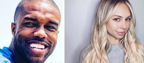 'BiP' DeMario Jackson and Corinne Olympios (Photo Credit via Instagram/Corinne and DeMario)