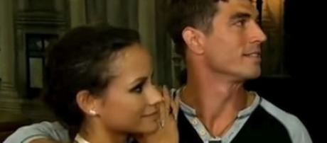 "Jessica Graf and Cody Nickson are contestants on ""The Amazing Race"" [Image: Niel Bohr/YouTube screenshot]"