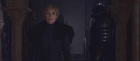 "Lena Headey returns as Cersei Lannister in ""Game of Thrones"" Season 8. (Photo:YouTube/ Euron Crow's Eye)"