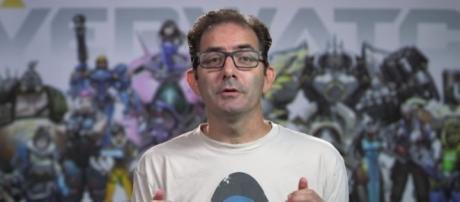 'Overwatch' Game Director Jeff Kaplan - YouTube/PlayOverwatch