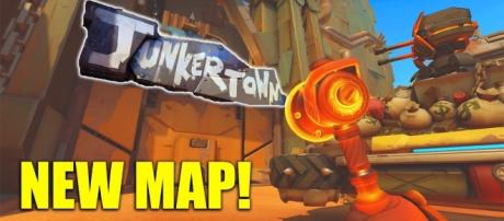 The 'Overwatch' Junkertown map. (image source: YouTube/Muselk)