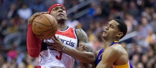 Bradley Beal has an excellent chance at becoming a first-time All-Star this season. Image Source: Wikimedia Commons