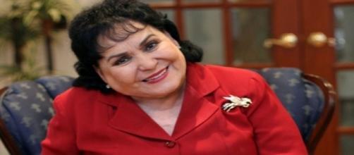 Carmen Salinas y su pensamiento incoherente