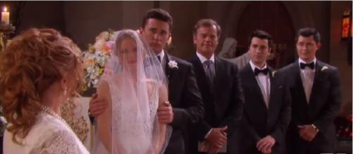 Days of our Lives double wedding. (Image via NBC/YouTube screencap)