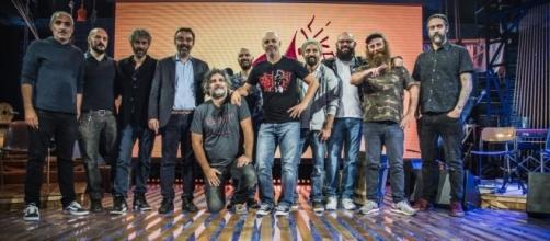 Diego Bianchi, Makkox e lo staff del nuovo programma