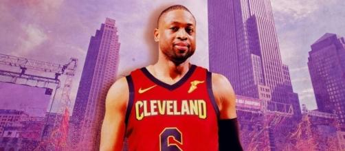 Dwyane Wade signs with Cleveland Cavaliers - YouTube Screen Grab (TheRinger)