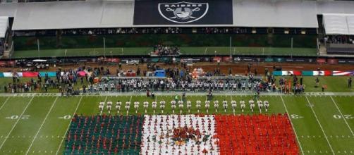 El equipo de Oakland envió un mensaje de apoyo a los mexicanos a través de su cuenta de Twitter. Foto: @RAIDERS