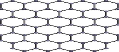 El grafeno será un material muy usado en el futuro. Public Domain.