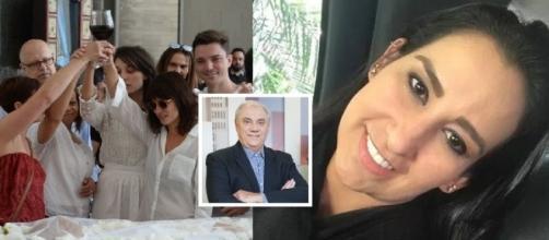 Filhos demonstram desconhecer vida de Marcelo Rezende e Fabíola Gadelha demitida! Confira.