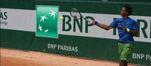 French tennis player Gael Monfils. Image Credit: ThoamsB, Flickr -- CC BY-ND 2.0