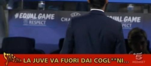 Incredibile gaffe di Premium contro la Juventus