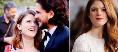 Kit harington and Rose Leslie are engaged! Celebrity Stars/YouTube Screen Cap