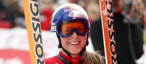 Lindsey Vonn wants to compete against men - Photo by Gerwig Loffelholz commons wikimedia :Vonn-lindse
