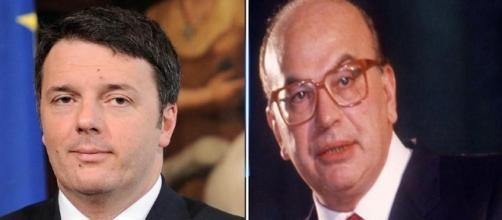 Massimo D'Alema mette a confronto le figure di Matteo Renzi e Bettino craxi