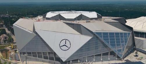 Mercedes-Benz stadium, Atlanta (Image Credit: Photo via Wikimedia Commons)