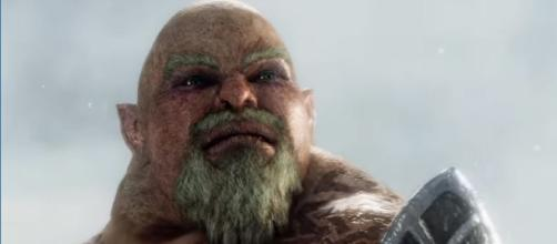 'Middle-Earth: Shadow of War' Forthog Orc-Slayer - [PlayStation / YouTube screencap]