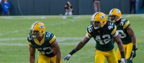 Green Bay Packers young defensive stars [Photo credit: Mike Morbeck / Wikimedia Commons]