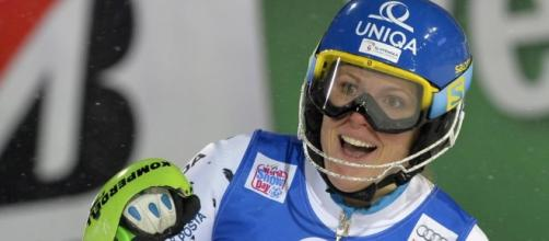 Slalom de Flachau: victoire et doublé de Velez-Zuzulova - francetvinfo.fr