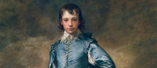 """The Blue Boy"" by Thomas Gainsborough FAIR USE mentalfloss.com Creative Commons"