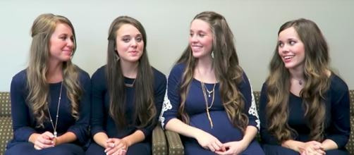 The Duggar sisters. Image by TLC/YouTube