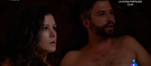Una Vita, anticipazioni: Felipe tradisce Celia, Teresa sta male