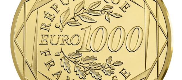 1000 Euro Goldmünze kommt aus Frankreich - mit Marianne auf der Rückseite