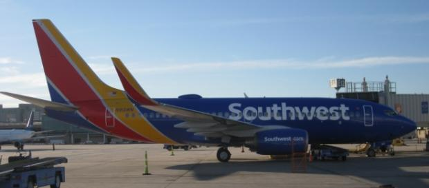 A passenger was forcibly dragged out of a Southwest flight after claiming she had pet allergy and refused to leave. Source;commons.wikimedia.org