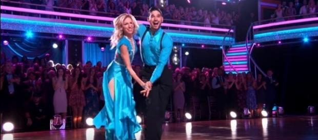 Alan Bersten and Debbie Gibson [Image Credit: Dancing With The Stars / YouTube screencap]