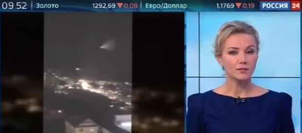 Além de assustar centenas de moradores, evento atraiu atenção da imprensa russa (YouTube)