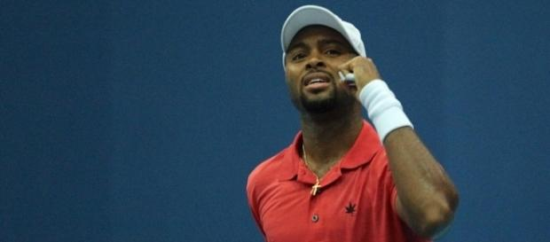 American tennis player Donald Young. - [Image Credit: Marriane Bevis/Flickr Images]
