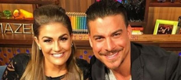 Brittany Cartwright and Jax Taylor appear on 'WWHL.' [Image Credit: Brittany Cartwright Instagram)