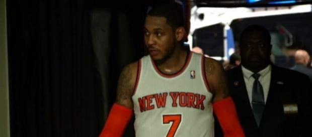 Carmelo Anthony will be a power forward with the Thunder. (Image Credit: NBA/YouTube)