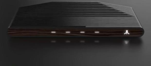 Details on Atari's upcoming console leaked. (Image Credit: CNET/YouTube screenshot)