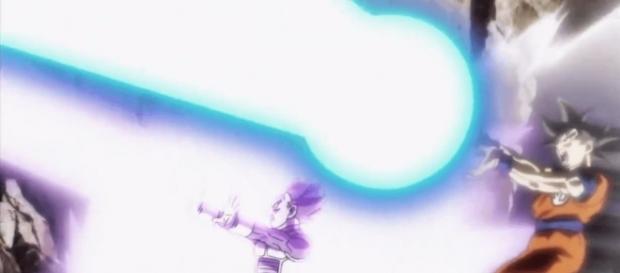 impresionante ataque de Goku y Vegeta