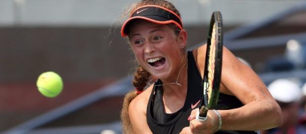Jelena Ostapenko bat Naomi Broady et passe en finale à Québec ... - rds.ca