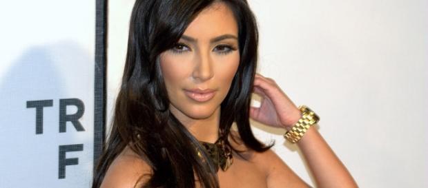 Kim Kardashian claps back at a media outlet over 'fake story' on Kylie Jenner's rumored pregnancy. (Wikimedia/David Shankbone)