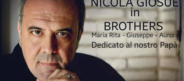 Locandina del nuovo spettacolo di Nicola Giosuè