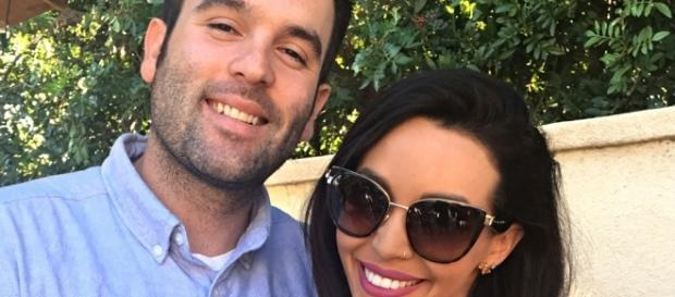 Mike Shay and Scheana Marie pose together before their divorce [Photo Credit: Scheana Marie/Instagram]
