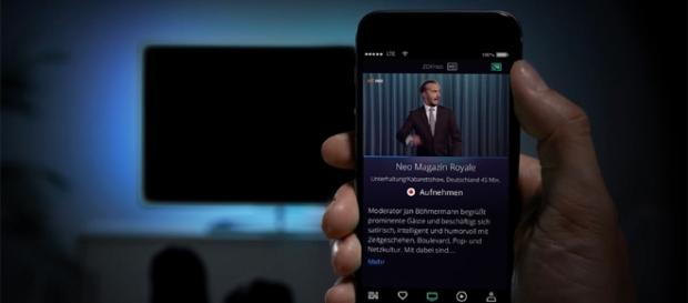 Mit der App waipu.tv kann man auch Sendungen aufnehmen / Foto: Waipu TV Werbung