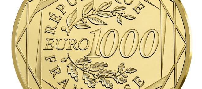 Neuheit: Frankreich gibt neue 1000 Euro-Goldmünze-heraus - Marianne 2017