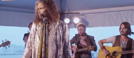 Aerosmith canceled remaining tours due to frontman health condition. YouTube/NpLegendas