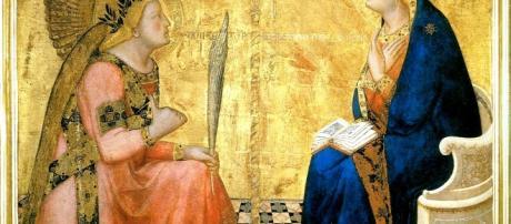 Annunciazione di Ambrogio Lorenzetti