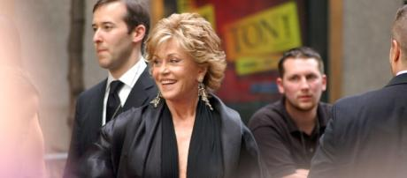 Jane Fonda shuts down Megyn Kelly during an interview. (Image Credit: Rob Young/Wikimedia)