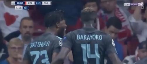 Batshuayi was Chelsea's unlikely hero, scoring the winner vs Atletico Madrid. Credit to youtuber Football Show Studio